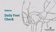 Diabetes: Daily Foot Check