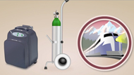 Using Oxygen When Away From Home